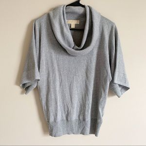 🌻 MICHAEL KORS - silver sparkle sweater - small